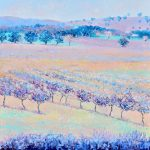 Violet Landscape