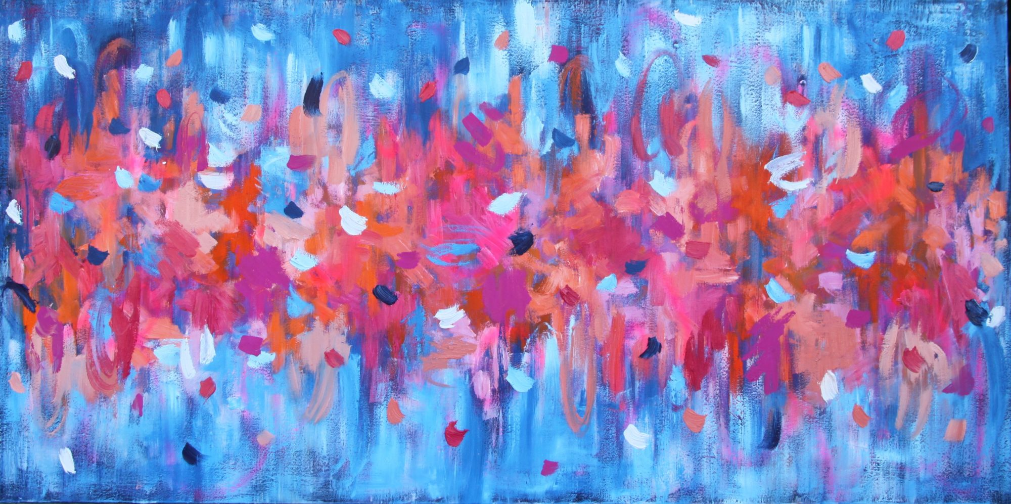 Belinda Nadwie Art Abstract Painting My Heart Is Pure
