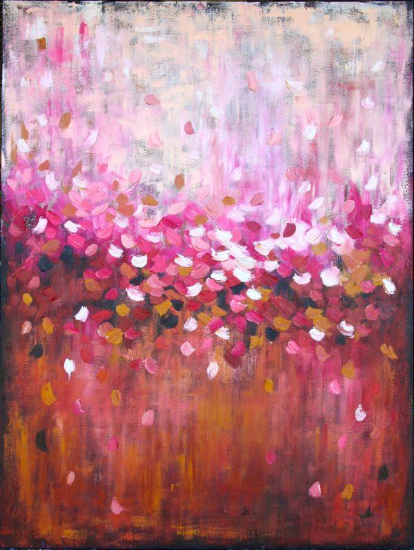 Belinda Nadwie Art Abstract Painting The Block Bella