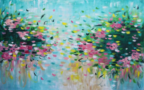 Belinda Nadwie Art Abstract Painting The Block Mel And Jesse Beautiful Three 3