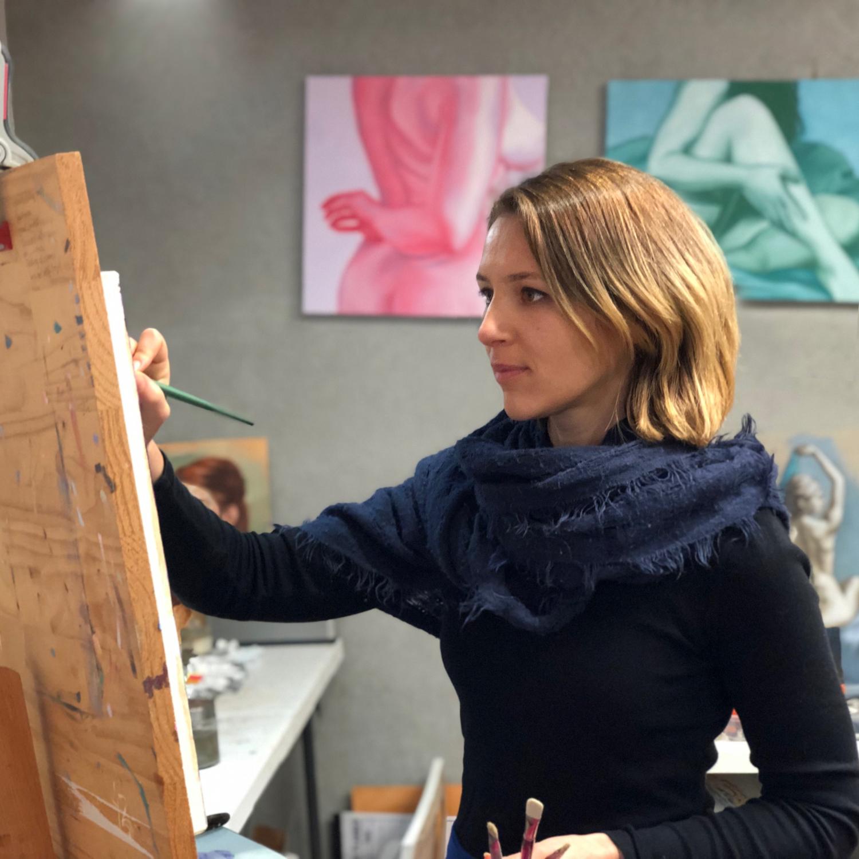 Anais Y Lili maria radun art paintings for sale online | art lovers australia