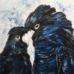 Black Cockatoo Love