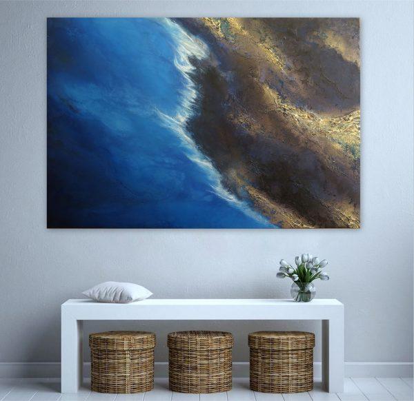 "Buy Art Online ""coastal Movement"" Petra Meikle De Vlas1"