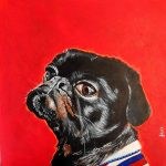 Charles In Charge – Pug with Attitude