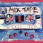 Pink, Purple and Blue Mix Tape