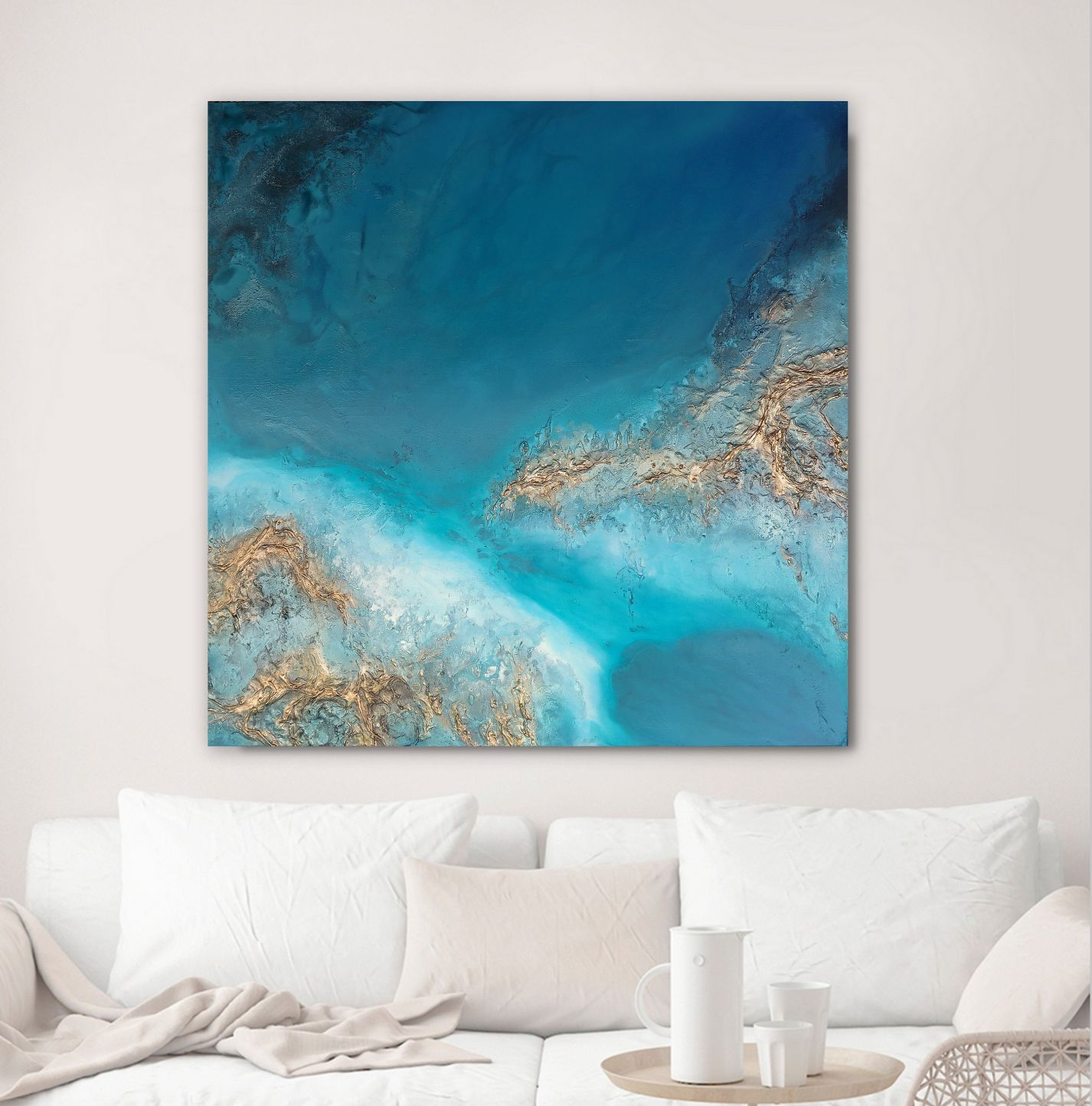 "Ocean Wall Art For Sale ""shoreline Estuary"" Petra Meikle De Vlas1"
