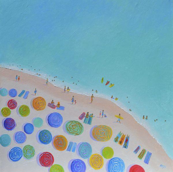 One Summer, Beach Painting By Jan Matson