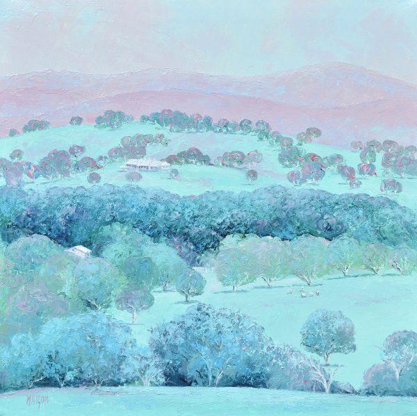 Peaceful Days, Australian Landscape Art By Jan Matson