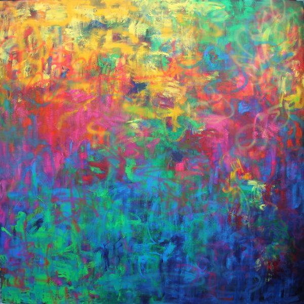 Belinda Nadwie Art Abstract Painting Australian Spirit