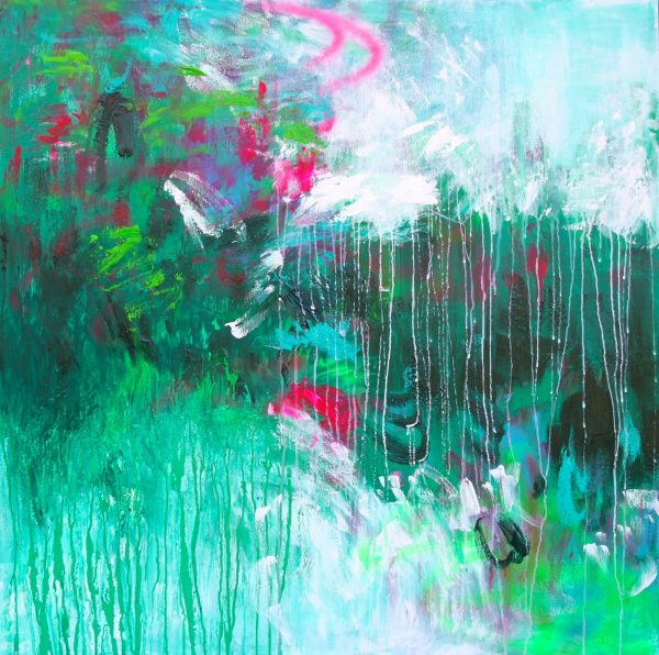 Belinda Nadwie Art Abstract Painting Our Peace 1 2