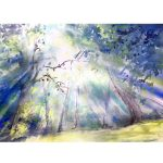 Light – Original watercolour painting