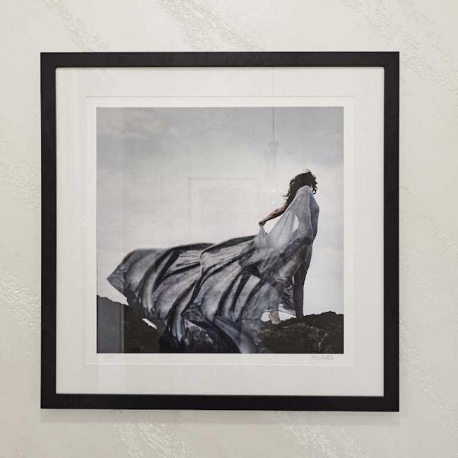 On The Wind By Kellie North Ltd Edition Print Art Lovers Australia Powder Room