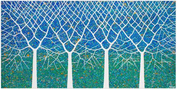 Trees Of Life Tropical Garden Miranda Lloyd Artist Australia