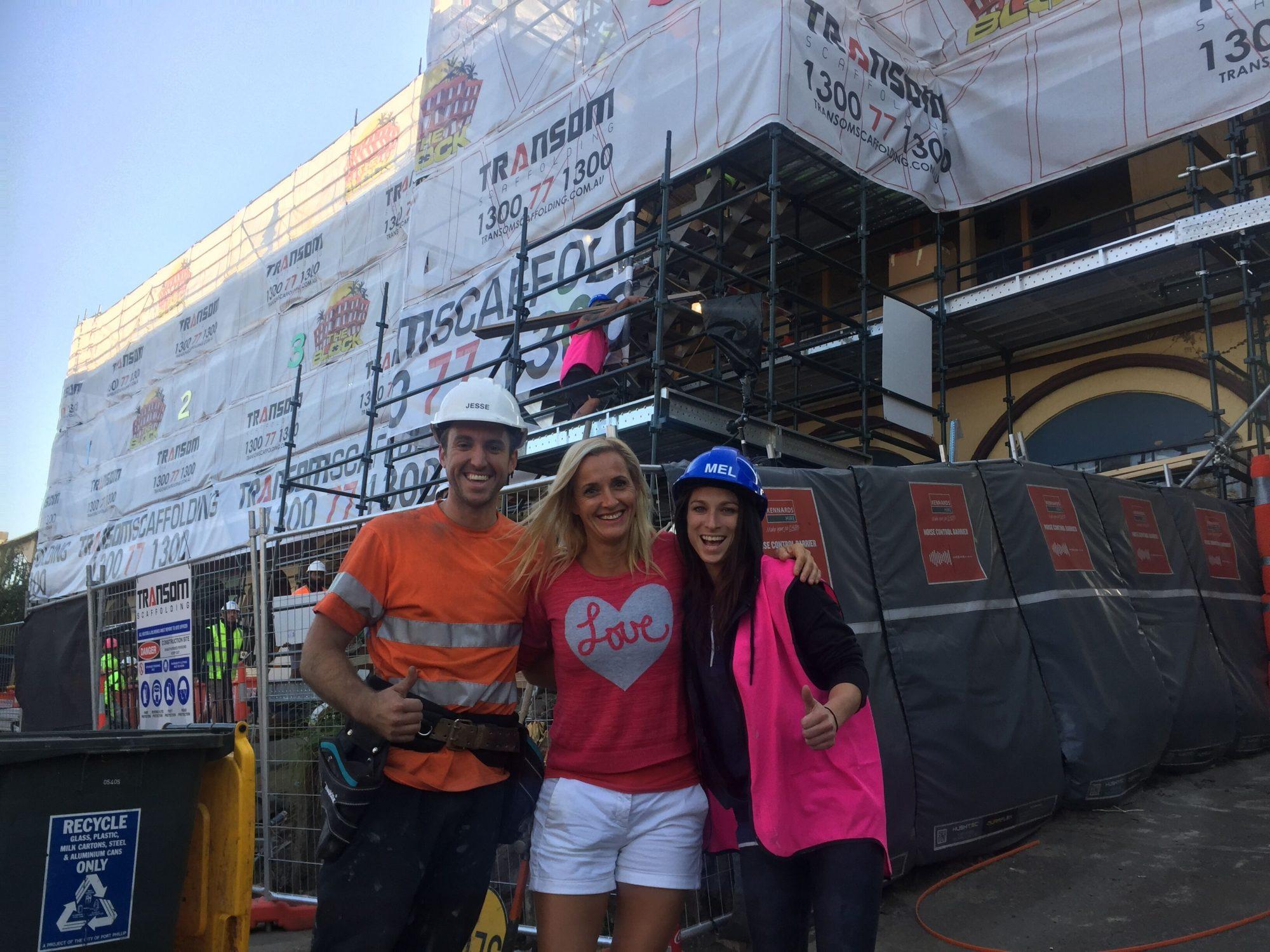 Belinda Nadwie With Jesse And Mel