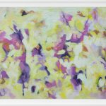 Pansies in Abstract