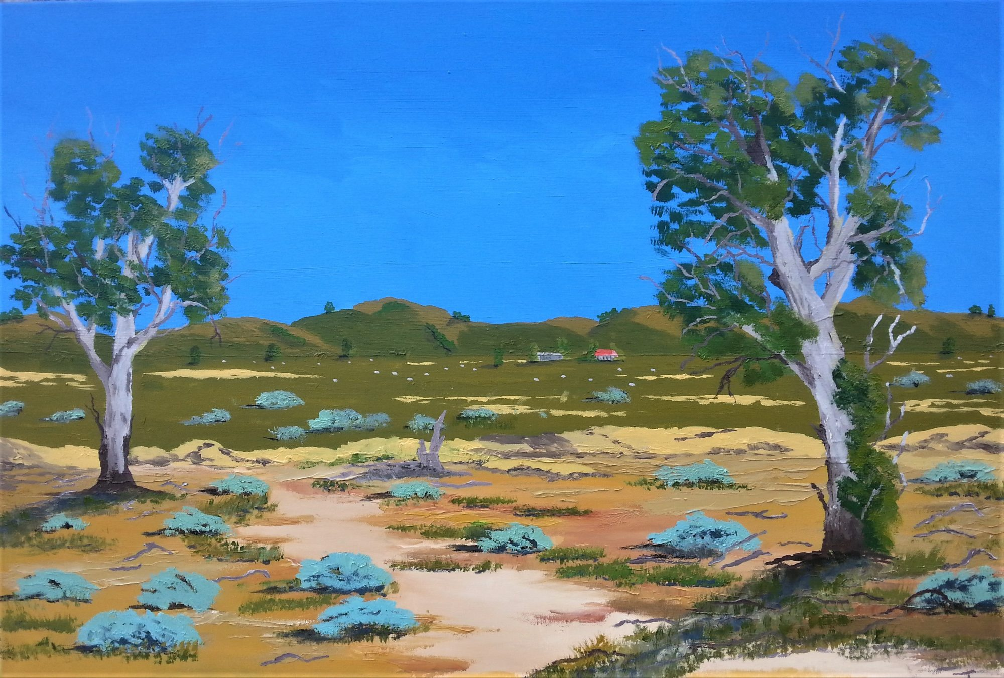 Mallee Country 60x90cm