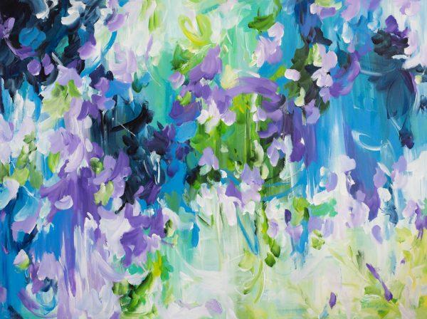 Waterfall Gully By Amber Gittins Abstract Artist