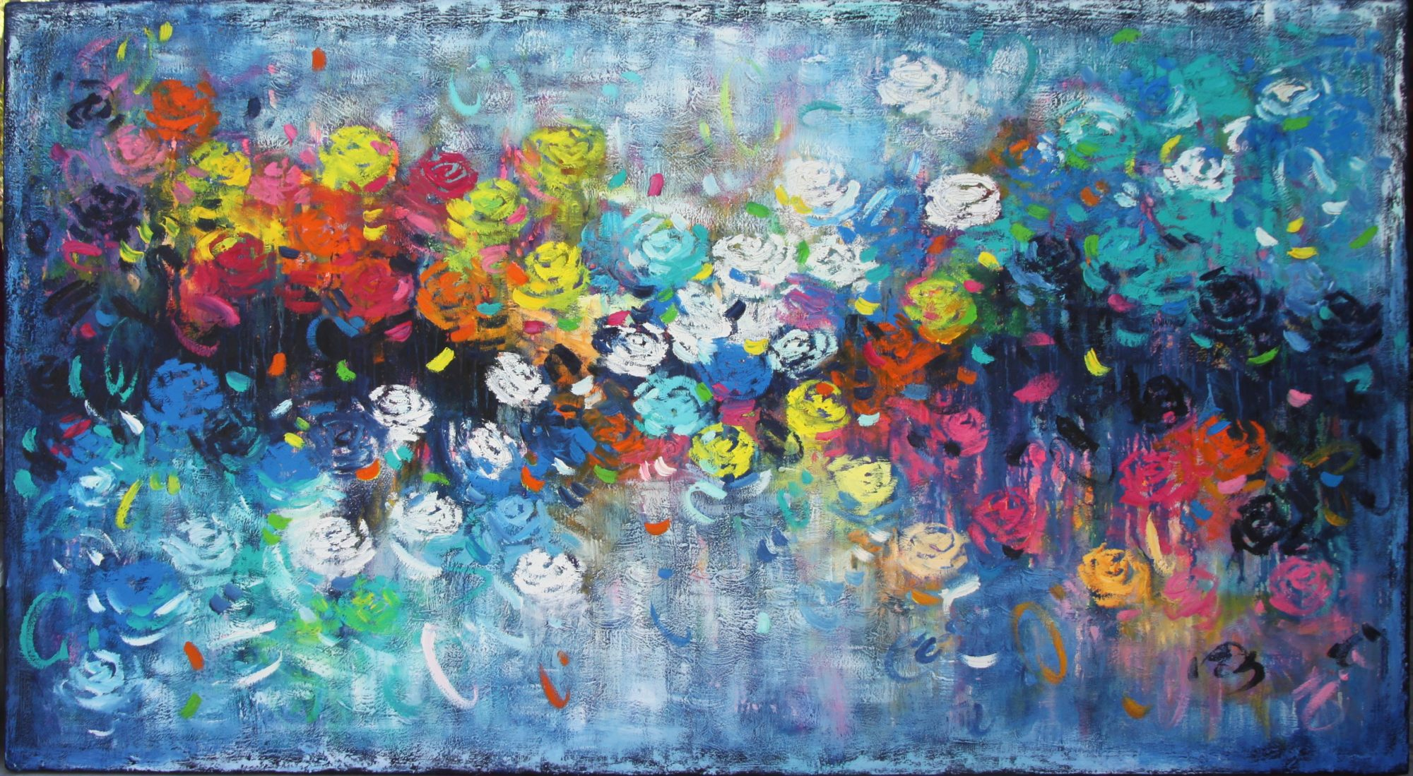 Belinda Nadwie Art Abstract Painting Free To Be Me