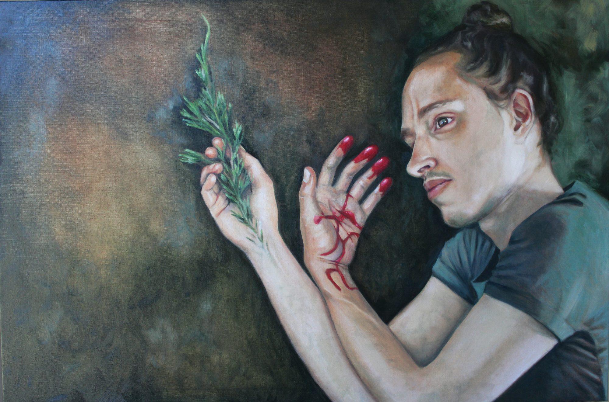 Natasha Zraikat Life In Death The Lament Of Cyparissus