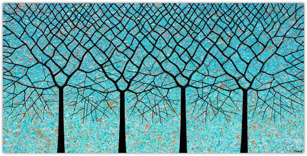 Trees Of Life Ocean View Miranda Lloyd Artist Art Lovers Australia