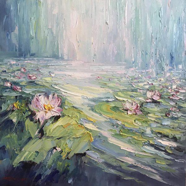 106 Water Lilies No 10, 61x61cm (copy)