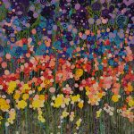 Night rainbow of flowers