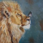 A Butterfly and a Lion