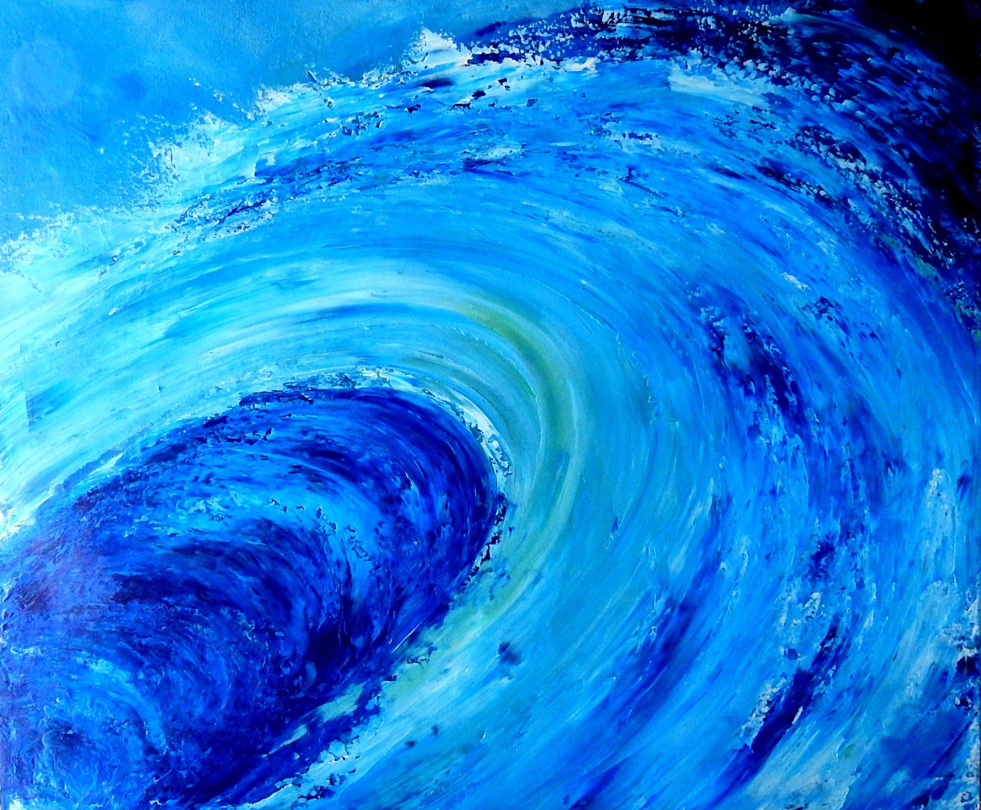 Abstract The Wave Juliehollisart