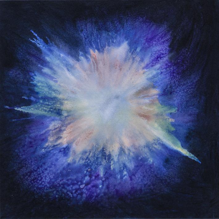 Bio Bloom V, 76.3cm X 76.3cm, Jacquelyn Stephens