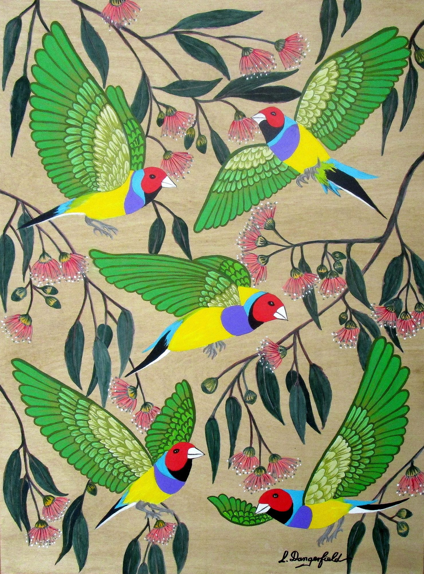 Birds And Blooms (no.6)