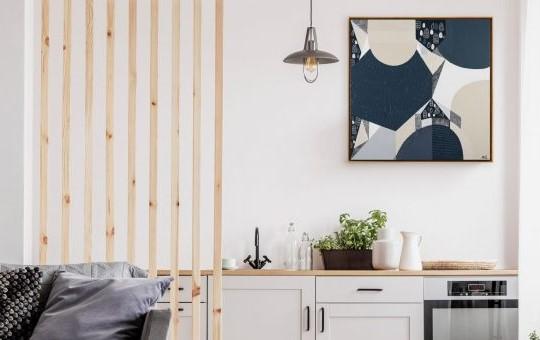 Grey Modern Bedroom Interior