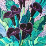 Calla Lily Black Forest