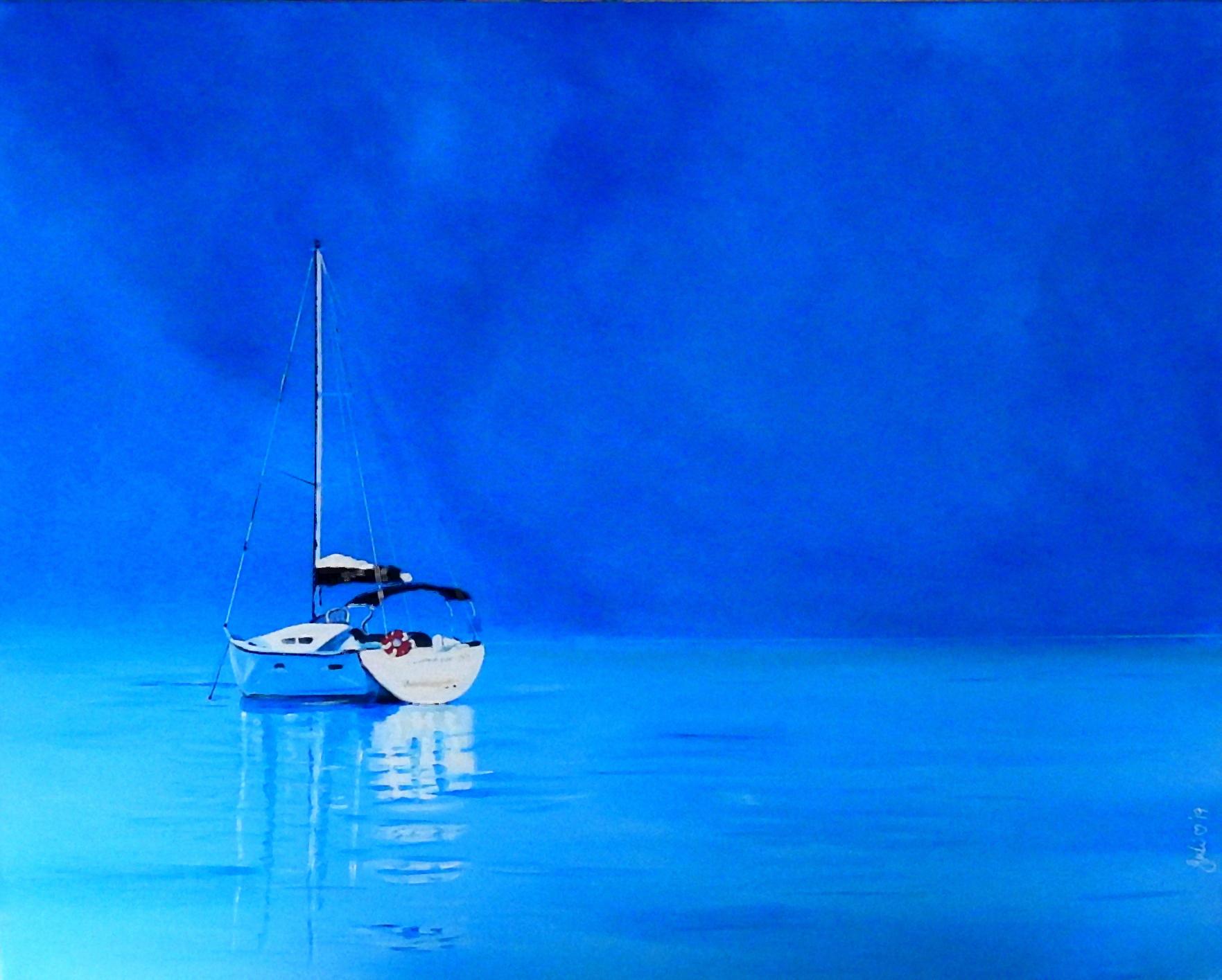 Calm Waters Julie Hollis Art Artlovers Australia