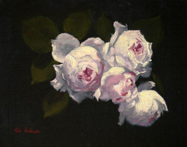 Earth Angel Vicki Sullivan Art Lovers Australia Oil On Linen H20cm X W 25cm