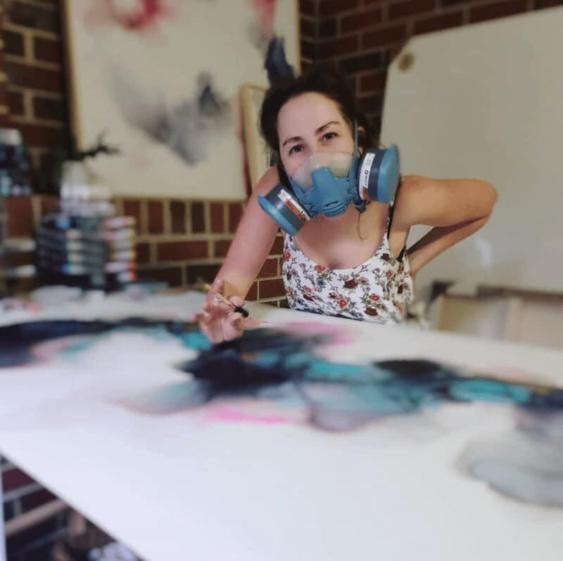 Fern Siebler In Studio