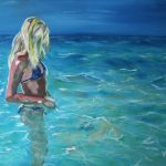 In the Shallows – Girl at the Beach