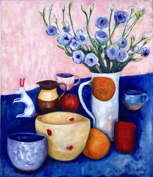 Kangaroo, Pots, Frui & Flowers Susannah Paterson Artloversaustralia