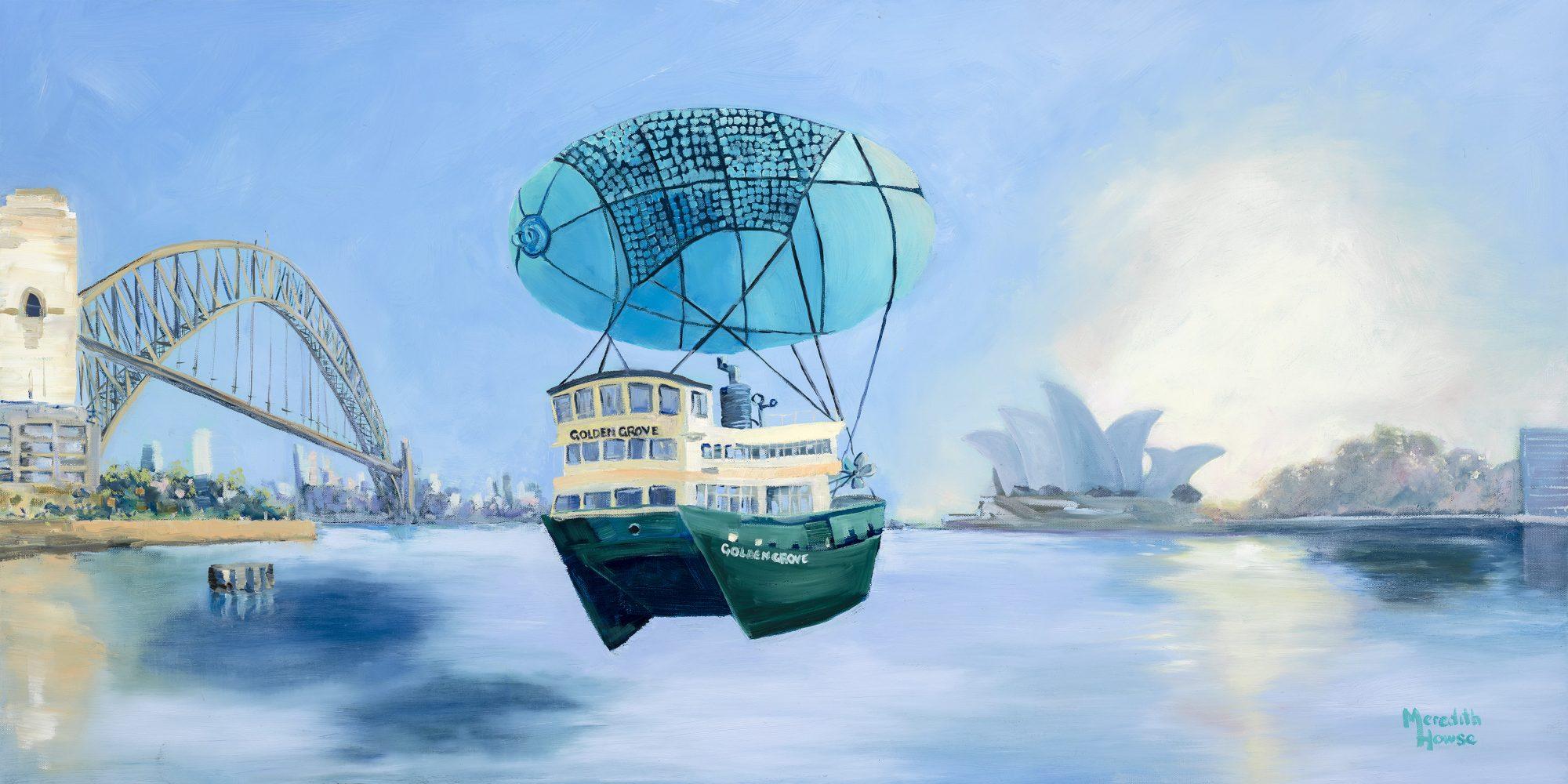 Meredith Howse 069 Sydney Harbour Seaworthy 30cm Promo