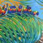 Super Snooper – Mr Cat and Rainbow Lorikeets