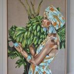 Zimi Paradise Ltd Ed Print on canvas