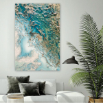 Among the Shallows - Ltd Ed Print - 75 x 100 Stretched Canvas Print