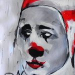 Street Art – Sad Clown – Germany