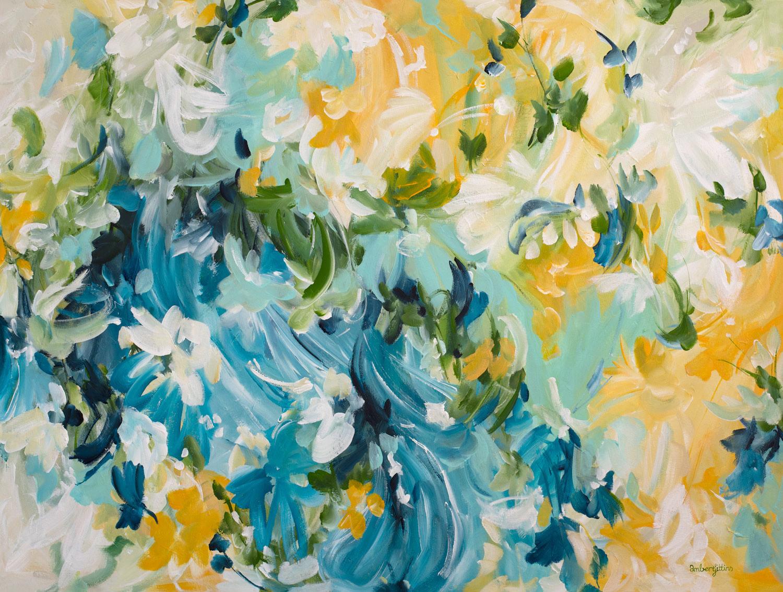 Sunshine And Bliss By Amber Gittins Art