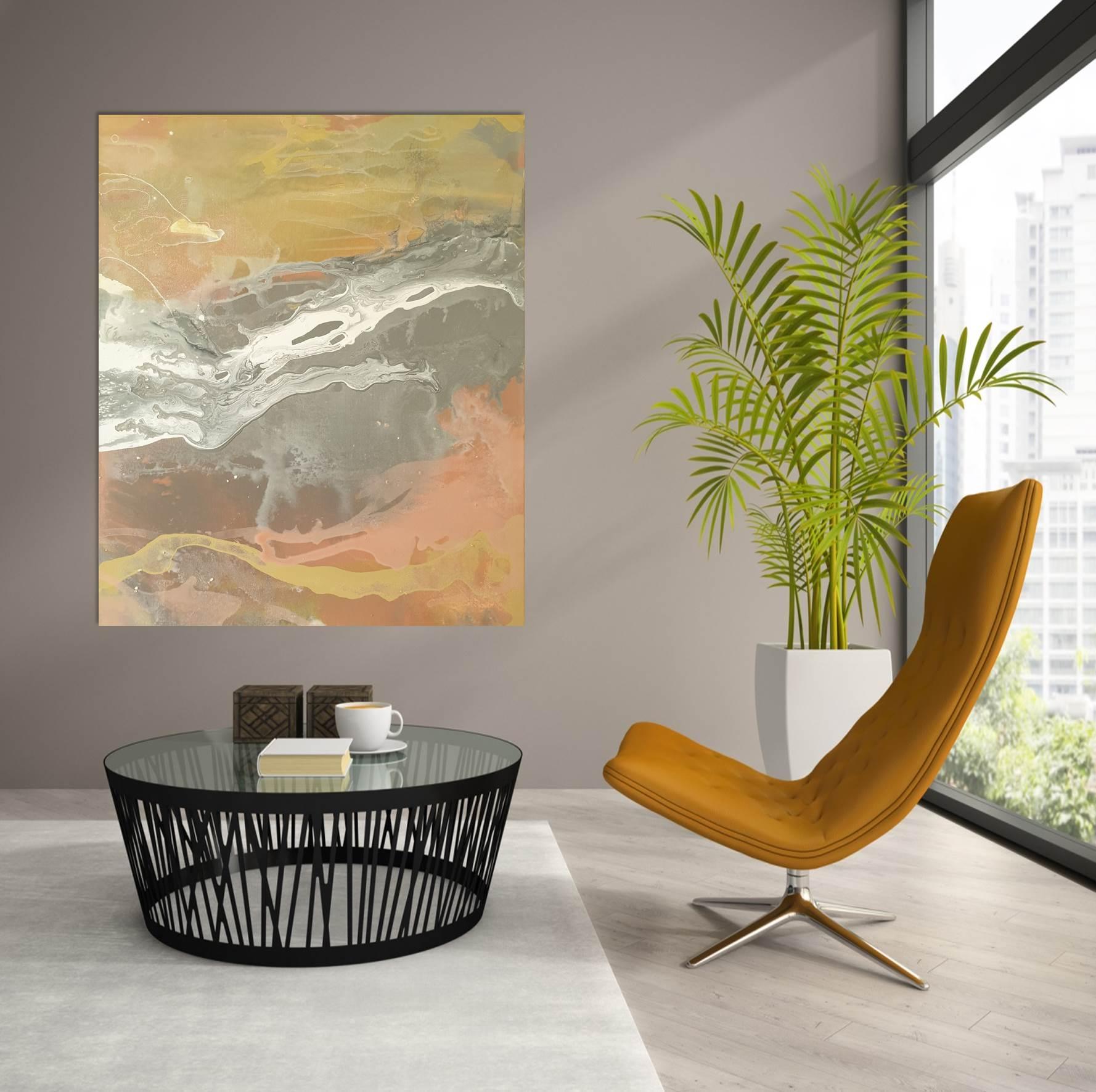 Terra Firma Ii Office High Rise Mustard Chair