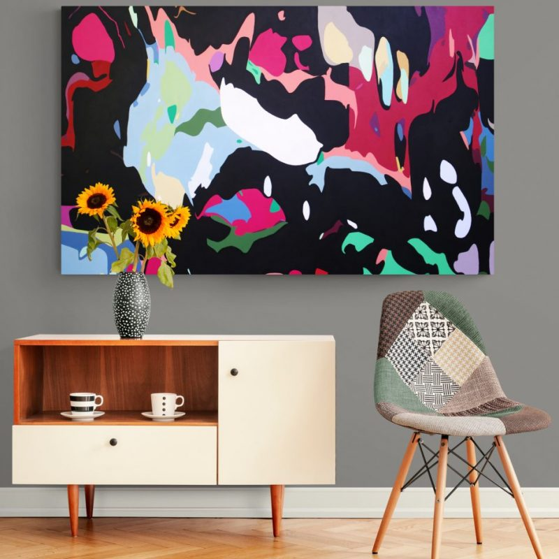 Andrew Neilan Artist Large Abstract Paintings Art Lovers Australia