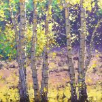 Aspen Autumn Trees