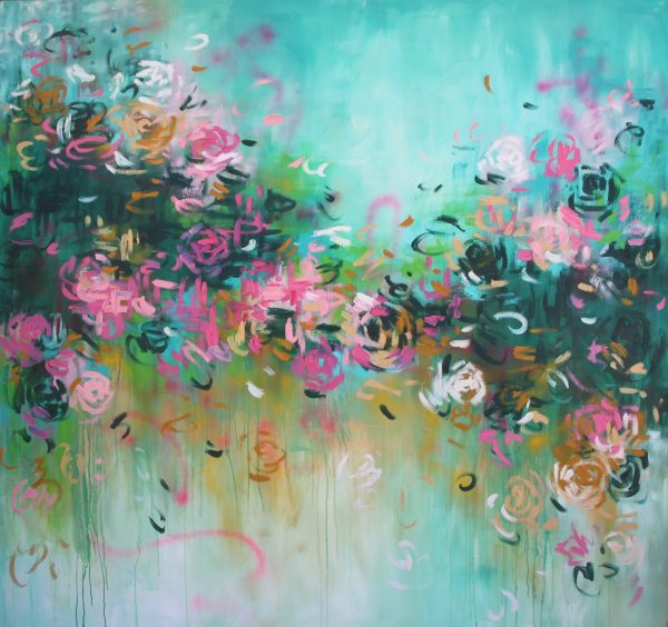 Belinda Nadwie Art Abstract Painting So Dreamy