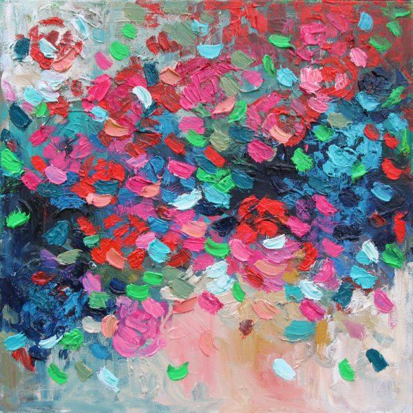 Belinda Nadwie Art Abstract Painting Sydney Artist Heart Beats