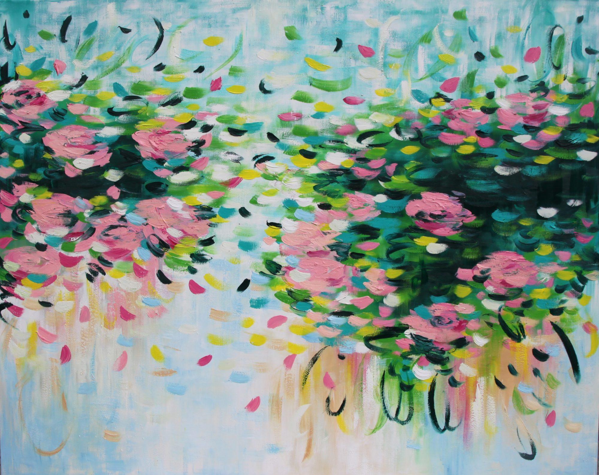 Belinda Nadwie Art Abstract Painting Sydney Artist Beautiful Moments