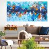 Belinda Nadwie Art Abstract Painting Tropical Swims 1 2 Copy